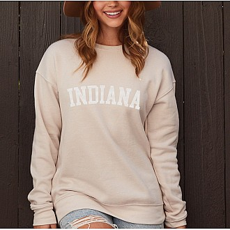 INDIANA Graphic Fleece Pullover